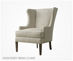 Fine Furniture Monterey Wing Chair