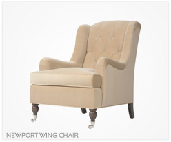 Fine Furniture Newport Wing Chair