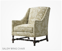 Fine Furniture Salem Wing Chair