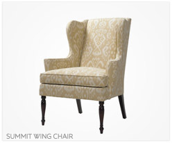 Fine Furniture Summit Wing Chair