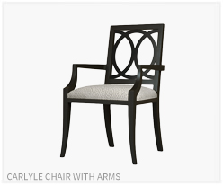 Fine Furniture Carlyle Chair With Arms
