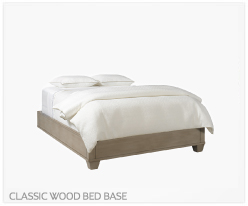 Fine Furniture Classic Wood Bed Base
