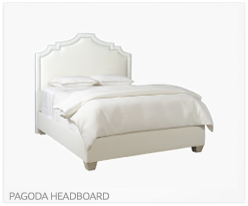 Fine Furniture Pagoda Headboard