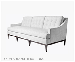 Fine Furniture Dixon sofa with buttons