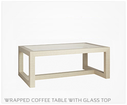 Fine Furniture Coffee Table With Glass Top