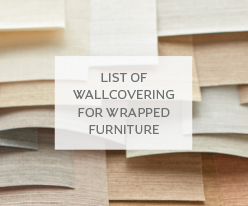 Approved Wallcoverings for Wrapped Furniture