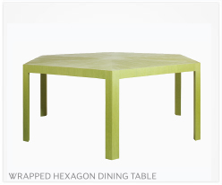 Fine Furniture Hexagon Dining Table