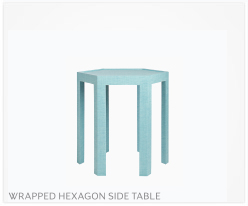 Fine Furniture Hexagon Side Table