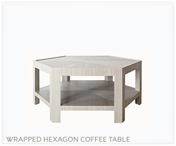 Fine Furniture Hex Coffee Table