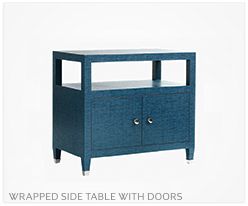 Fine Furniture Side Table With Doors
