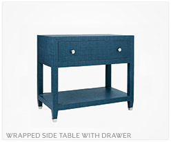 Fine Furniture Side Table With Drawer