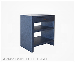Fine Furniture Side Table H Style