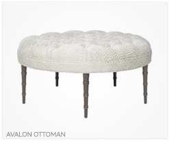 Fine Furniture Avalon Ottoman