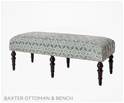Baxter Ottoman and Bench