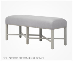 Fine Furniture Bellwood Ottoman and Bench