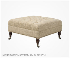 Fine Furniture Kensington Ottoman and Bench