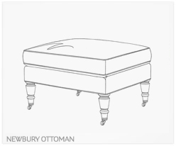 Fine Furniture Newbury Ottoman