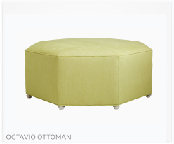 Fine Furniture Octavio Ottoman