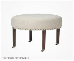 Fine Furniture Oxford Ottoman