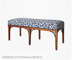 Fine Furniture Parker Ottoman and Bench