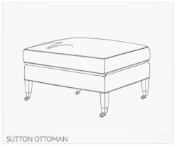 Fine Furniture Sutton Ottoman