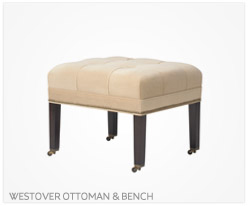 Fine Furniture Westover Ottoman and Bench