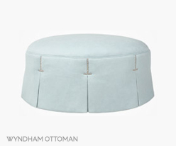 Fine Furniture Wyndham Ottoman
