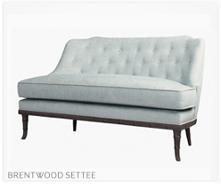 Fine Furniture Brentwood Settee