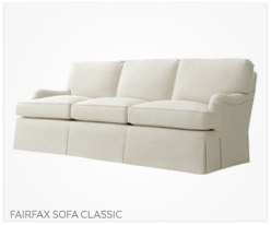 Fine Furniture Fairfax Sofa Classic