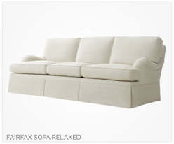 Fine Furniture Fairfax Sofa Relaxed