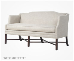 Fine Furniture Frederik Settee