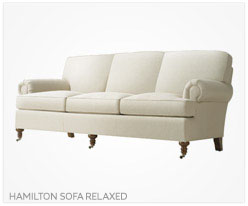 Fine Furniture Hamilton Sofa Relaxed