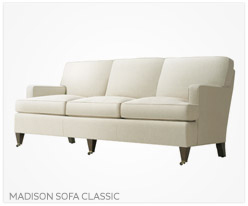Fine Furniture Madison Sofa Classic