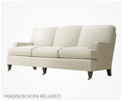 Fine Furniture Madison Sofa Relaxed