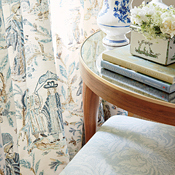 Cover photo Toile Fabric