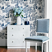 Cover photo for collection Toile Wallpaper