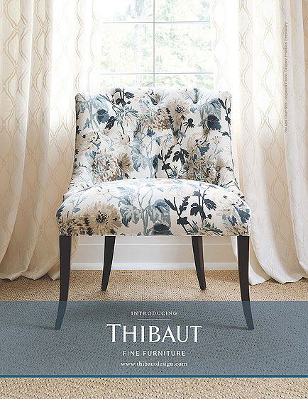 Thibaut Fine Furniture - Longwood Blue inspiration big image