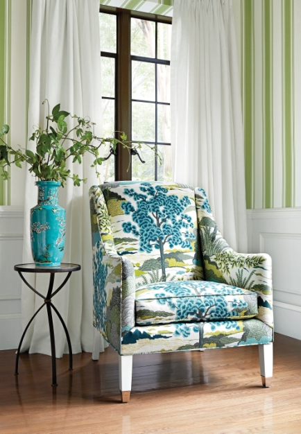Heritage for the Here and Now in Thibaut's Greenwood Collection