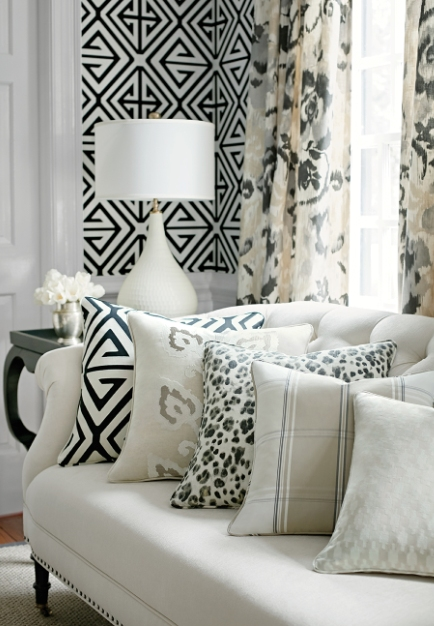 Spirited and Classic Patterns Run Carefree and Bold in the Bridgehampton Collection