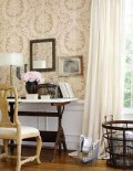 Fashion-Forward Damask Wallpapers are Reinvented in Thibaut's Damask Resource Volume 3