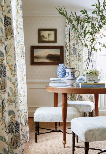 With a Nod to Early European Style, Thibaut Launches the Chestnut Hill Collection