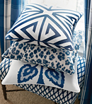 Thibaut Design Blue Group in Bridgehampton