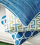 Thibaut Design Green & Blue in Calypso