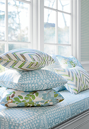 Spa Blue and Green Series from Canopy Collection