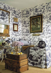 Pheasant Toile from Castle Pine Collection