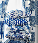 Thibaut Design Navy Series in Ceylon