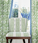 Thibaut Design New Haven Stripe  in Ceylon