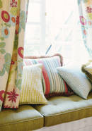 Thibaut Design Ginger Stripe in Chelsea