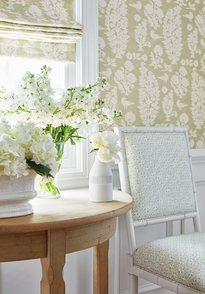 Allaire Wallpaper & Fabric from Chestnut Hill Collection