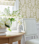 Thibaut Design Allaire Wallpaper & Fabric in Chestnut Hill